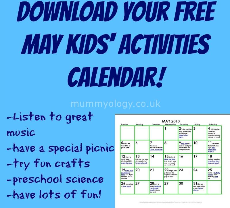 Calendar Ideas For May : May activities gallery