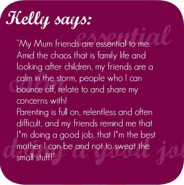 mom friends talk
