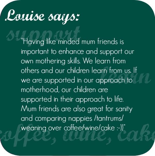 Mum friends talk