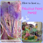 how to host a fairy party - mummyology